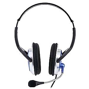 Juegos Cascos Cascos Con Microfono Estereo Para ORDERNADOR PC Skype VOIP