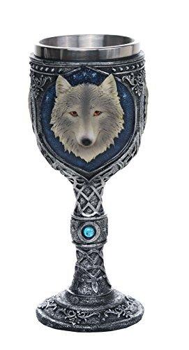 Lone Wolf Celtic Magic 7oz Wine Chalice Goblet