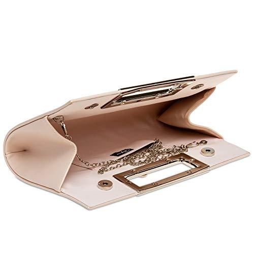 Donna Nude Caspar Pochette Manico Con In Grande Metallo Ta408 5nwqFP1