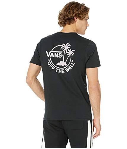 Vans Mens Mini Dual Palm II T Shirt (Black Violet, XX-Large)