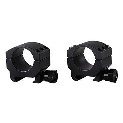 Burris 420180 XTR Rings (1-Inch, Low, Black)