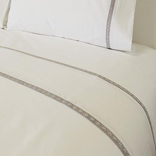 Gris Home - Juego sábanas capri 100% algodón percal acabado ...