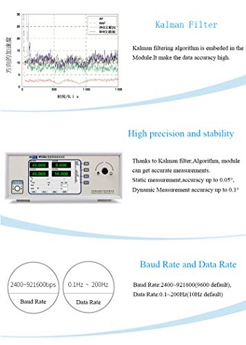 AHRS 3 Axis Digital Accelerometer Acceleration Angle 3-Axis Gyro Gyroscope  Vibration Triaxial Magnetic Field Electronic Compass Magnetometer MPU9250