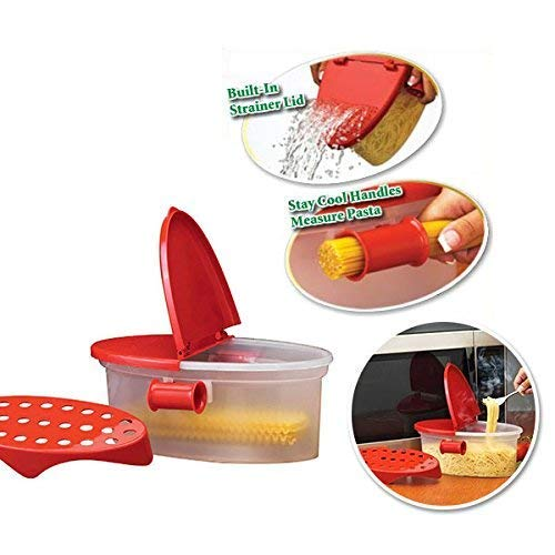 Como Pasta Barco antiadherente microondas Cooker – perfecto caja ...