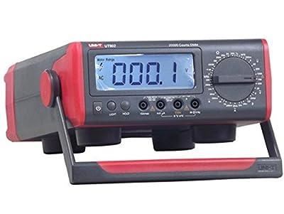 UNI-T UT802 AC/DC Powered 20000 Counts Manual Range Digital Bench Type Multimeter 200OHM