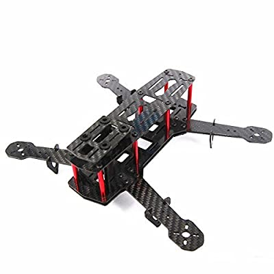 Xiangtat Qav250 Carbon Fiber 4 Axis Mini 250mm FPV Quadcopter Frame Kit (Unassembled): Toys & Games