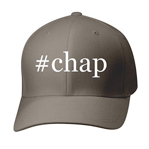 BH Cool Designs #Chap - Baseball Hat Cap Adult, Dark Grey, Small/Medium (Chaps Leather Schooling)