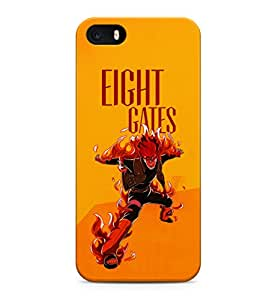 Naruto Shippuden Character Eight Gates Tenketsu Hard Plastic Snap-On Case Skin Cover For iPhone 5 / iPhone 5s