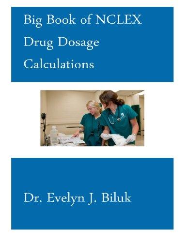 Big Book of NCLEX Drug Dosage Calculations PDF