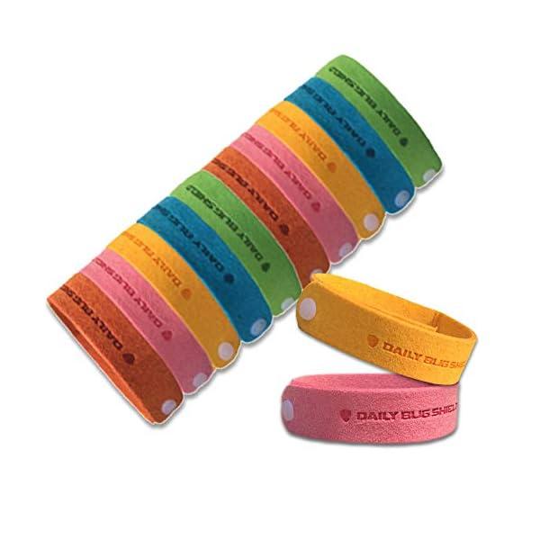 Braccialetto anti zanzare -12 pezzi di braccialetti anti-zanzare adatti per il viaggio, privi di sostanze tossiche o… 1 spesavip