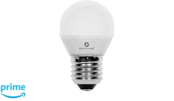 ESFERICA 5W E14 y E27 220V 360º LED de Beneito Faure - Blanco natural, E27, 5W: Amazon.es: Iluminación