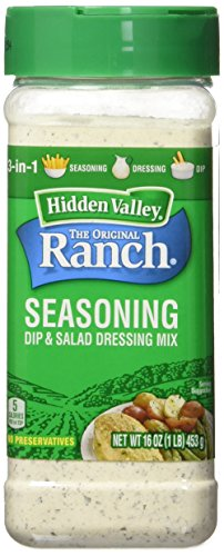 Dressing Mix (Hidden Valley Original Ranch Seasoning and Salad Dressing Mix, 16 Ounce)