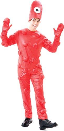 Paper Magic Group - Yo Gabba Gabba - Muno Adult Costume - Size -