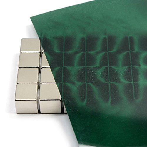 """CMS Magnetics® 4"""" x 6"""" Green Magnetic Field Viewing Film, Fun!: Amazon.in:  Industrial & Scientific"""
