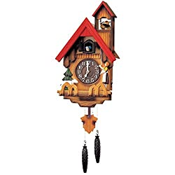 Rhythm Cuckoo Clocks 4MJ417-R06 (Marko Fiber Cloth Incl.)