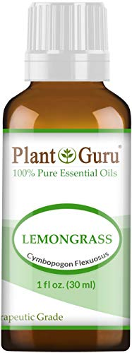 Lemongrass Essential Oil 1 oz / 30 ml 100% Pure Undiluted Therapeutic Grade For Aromatherapy Diffuser, Natural Healthy Skin, Body and Hair Growth