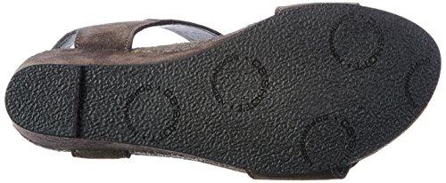 cashott A8026 - Sandalias Mujer Grau (Grey Suede 53)