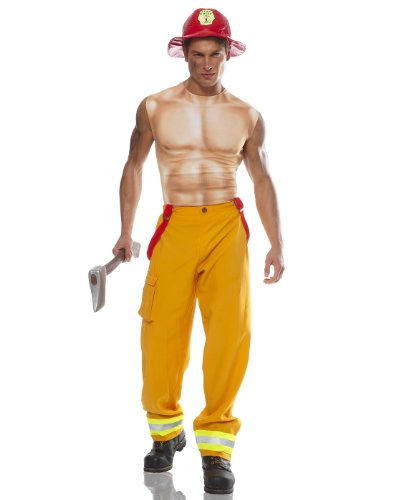 Firefighter Dued Mens Standard Up to 46 ()
