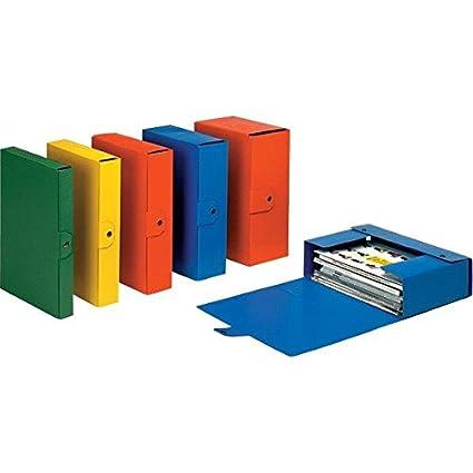 Dorso 15 Cm Eurobox 390335090 Giallo Esselte Cartella a Scatola per Larchiviazione di Documenti a Lungo Termine A4