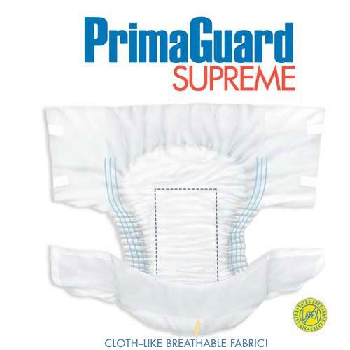 PrimaGuard Supreme Protective Briefs, Regular, Case of 80