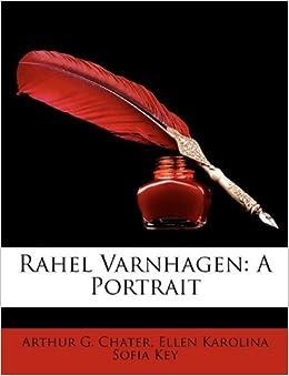 Book Rahel Varnhagen: A Portrait