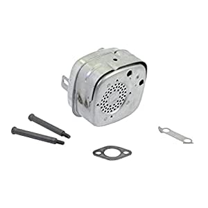 Briggs & Stratton 692304 Lo-Tone Muffler For 5-8 5 HP Horizontal and  Vertical Engines