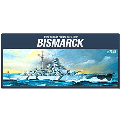 (Academy 14109 German Battleship Bismarck, 1/350 Scale Plastic Model Kit)