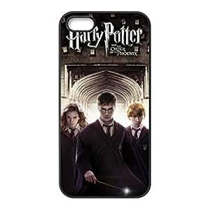 Harry Potter Three Actors-Custom Unique White back cover hard plastic for iphone 5 5s case