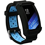 Best Excellent Fits For Galaxies - Wonlex Samsung Gear Fit2 Band, Silicone Replacement Watch Review