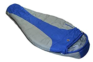 Ledge Sports FeatherLite +20 F Degree Ultra Light Design, Ultra Compact Sleeping Bag (84 X 32 X 20, Blue)