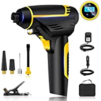 Automatic Cordless Tire Inflator,Portable Hand Held...