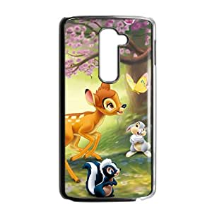 Spring scenery deers and lovely small animal Cell Phone Case for LG G2