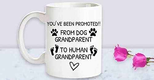Pregnancy Reveal to Grandparent Pregnancy Announcement Grandparent Reveal Baby Announcement Gift Going to be a Grandparent Reveal to Parents Coffee Mug 11oz – Mug
