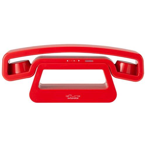SwissVoice ePure スイスヴォイス イーピュア コードレスフォン SOE001 [ レッド ] 1年間保証 B00CGTMZQK