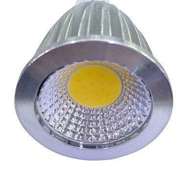 6W LED Spotlight GU10 1COB 480Lm Warm White/White Non-Dimmable AC220-240V 4Pcs , 220-240v