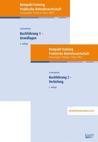 Bücherpaket Buchführung 1 + 2: mit Kompakt-Training Buchführung 1 - Grundlagen und Buchführung 2 - Vertiefung
