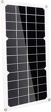 Zhang 100W Solar Panel 18V Dual USB Mit 3W LED-Lampe + 10A USB-Solarregler Laderegler Für Auto Outdoor-Camping-Licht