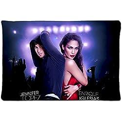 """Trsunner Custom Jennifer Lopez Enrique Iglesias Tour Unique Pillowcase Standard Size 20""""X30""""inches Design Pillow Case Cover"""