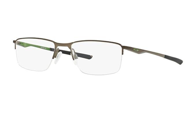 2fdf7ef555bfc Oakley Half Rim Rectangular Men s Spectacle Frame - (0OX321832180254 ...