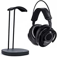 AudioQuest NightHawk Carbon Over-Ear Semi-Open Headphones with Perch Headphone Stand