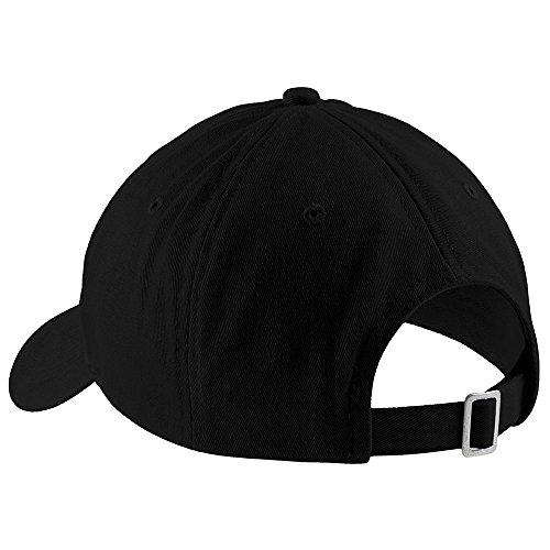 Trendy Apparel Shop Love Trumps Hate Embroidered Soft Low Profile Adjustable Cotton Cap - Black by Trendy Apparel Shop (Image #1)