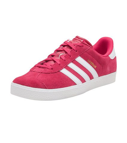 adidas shoes pink and white. adidas gazelle 2 j big kids shoes bold pink/white/white ba9315 (6 m us) pink and white