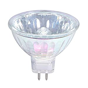 GMY Halogen MR16 50W 12V GU5.3 Dimmable Spotlight 36° Beam Angle 3000K Warm White 4000 Hours Long Lifetime 6 Pack