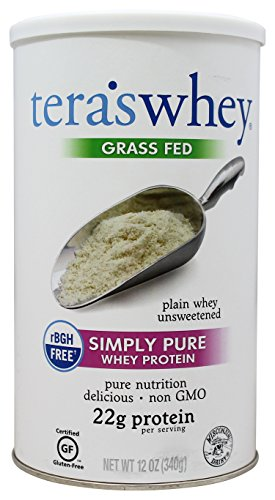 tera's: Simply Pure/rBGH-Free Whey Protein, Plain, 12 (Sweet Dairy Whey)