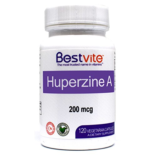 Huperzine A 200mcg (120 Vegetarian Capsules) – No Stearates – No Flow Agents