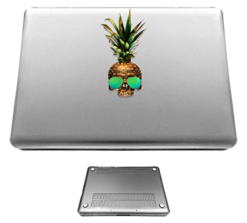 c1206 - Pineapple Sugar Skull Cool Sunglasses Design Macbook pro 13.3'' (2010-2015) Fashion Trend CASE Full COVER Front And Back Full Protective Cover - 2011 Trends Sunglasses