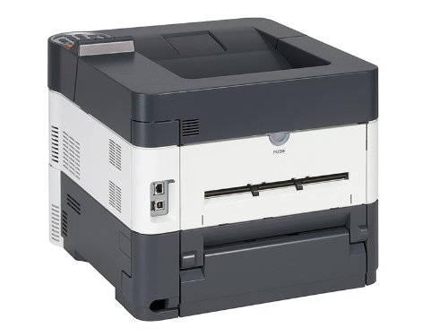 Kyocera 1102MT2US0 Model ECOSYS FS-4100DN Black & White Network Laser Printer, 47 Pages per Minute, 5 Line LCD Display Panel, 256MB RAM, Power PC 465S/750MHz CPU, 600 x 600 dpi, Up To Fine 1200 dpi by Kyocera (Image #6)