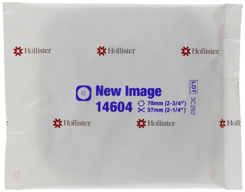 (Hollister New Image Flextend Flat Skin Barrier with Tape Border, 5 Count)