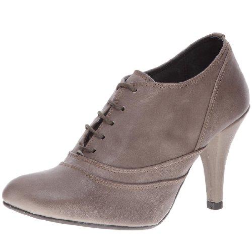 Petites Parisiennes Vestir Zapatos Para Cuero Les Gris Mujer De dZPSw