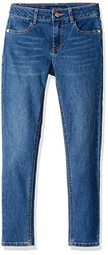 Tommy Hilfiger Denim Blue Jean (Tommy Hilfiger Big Girls' Core Denim Bottom, Medallion Blue, 14)